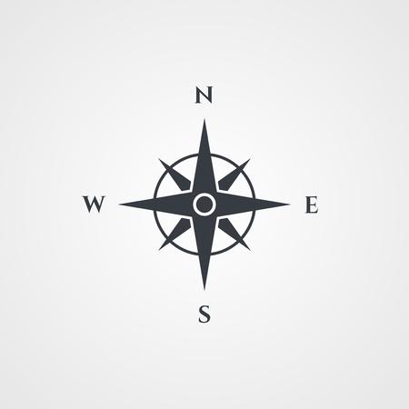 bussola: Rosa dei venti, icona della bussola