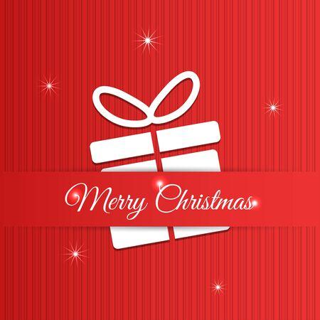 greeting christmas: Merry Christmas greeting card design