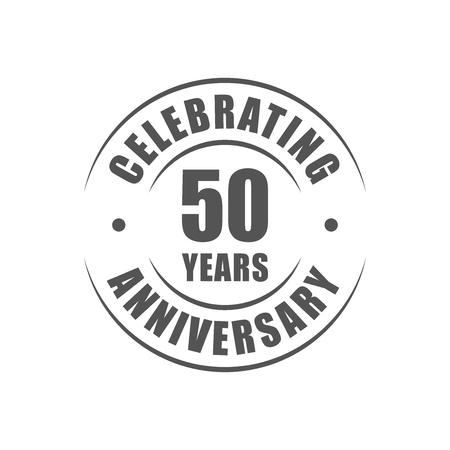 celebrating: 50 years celebrating anniversary logo