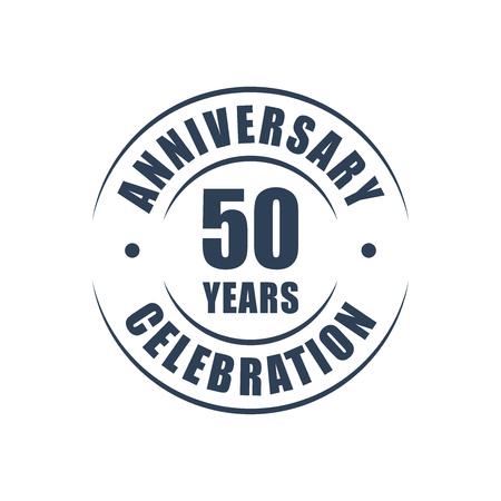 50 years anniversary: 50 years anniversary celebration logo