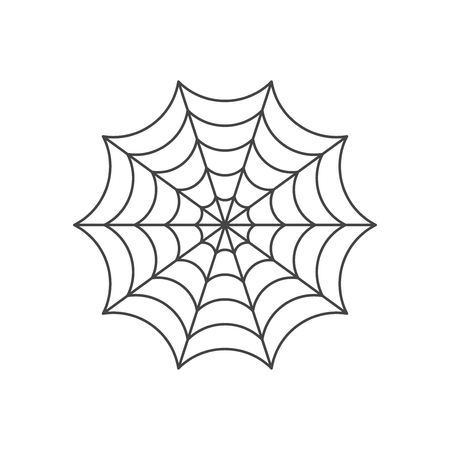 Spider web pictogram