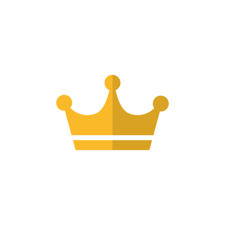 Gold crown icon 向量圖像