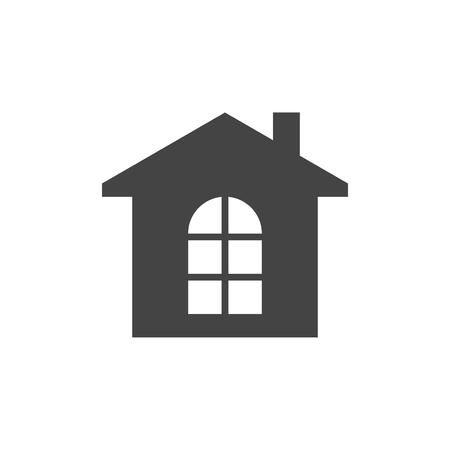 House flat vector icon  イラスト・ベクター素材