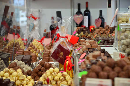 13: Zagreb.Croatia. 13 Feb 2016. 5th Zagreb Coffee  Chocofest at Ban Josip Jelacic Square.