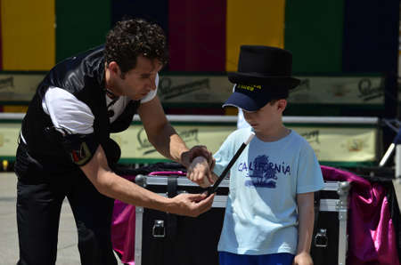 entertainers: Zagreb,Croatia. 04 Jun 2015. 19th International street festival Cest is dBest.