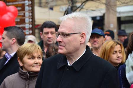 croatian: Former Croatian President Ivo Josipovic