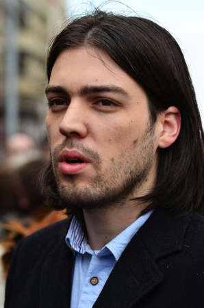 activist: Ivan Vilibor Sincic is Croatian political activist and at the end of 2014. candidate for the Croatian President Editorial