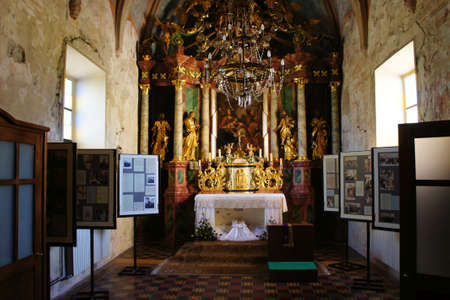 parish: Krasic,Croatia, 19th October 2013. Parish Church Of The Most Holy Trinity