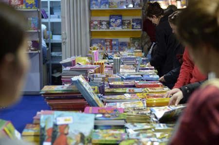 nov: Zagreb,Croatia. 14 Nov 2015. 38th International Book Fair - Interliber
