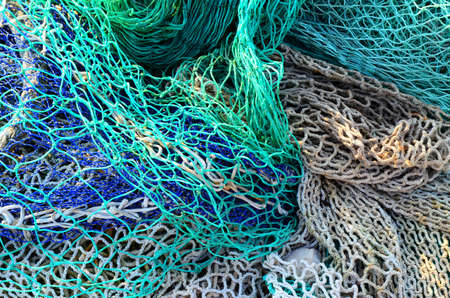 net: fishing net Stock Photo