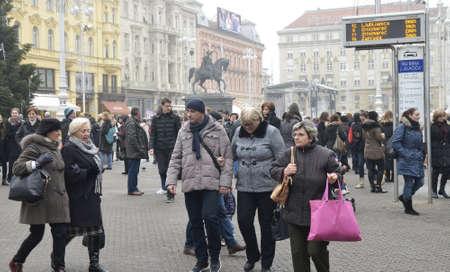 dec: Zagreb, Croatia.05 Dec 2015. Advent in Zagreb.