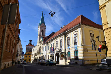croatian: Croatian Museum of Naive Art in Zagreb,Croatia