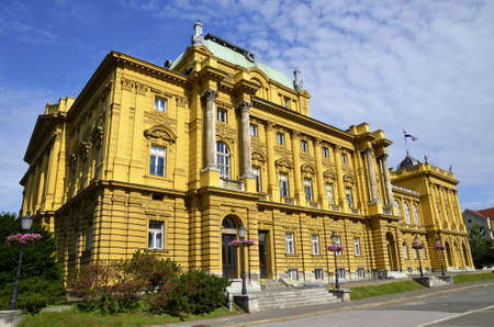 croatian: croatian national theatre in Zagreb,Croatia