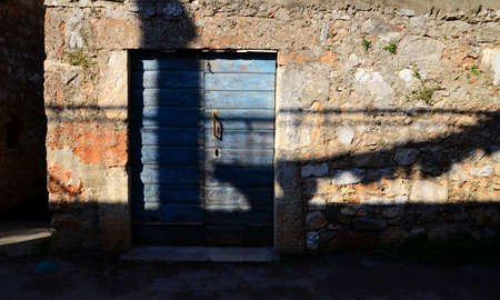 Old stone house in Dalmatia Stock Photo