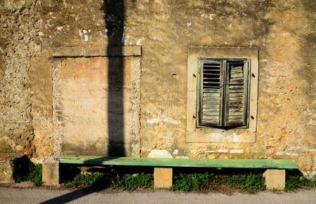 dalmatia: Old stone house in Dalmatia Stock Photo