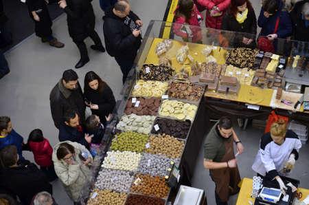 Zagreb,Croatia. 8th February 2014. Coffee & Chocofest