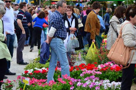 31: Zagreb,Croatia. 31 May 2014. 47th International Garden Exhibition - Floraart at park Bundek