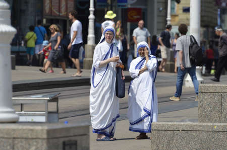 Mother Teresa: Missionary Sisters of Mother Teresa in Zagreb,Croatia Editorial