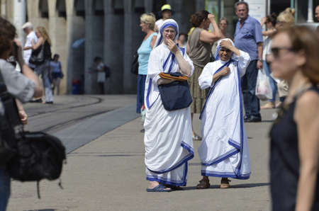 missionary: Missionary Sisters of Mother Teresa in Zagreb,Croatia Editorial