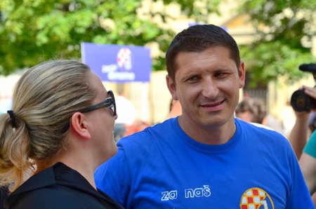 footballer: Zagreb,Croatia. Silvio Maric retired Croatian footballer