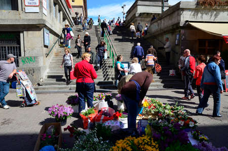 16: Zagreb,Croatia. 16 Apr 2016.Beautiful spring day in the city. Editorial