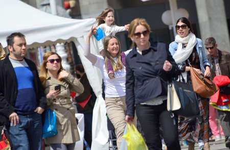 the  fertility: Zagreb,Croatia. 30th April, 2016. Association of Parents organized the fifth civil action Together for fertility The goal is to provide support to infertile couples and raise public awareness on the issue of infertility