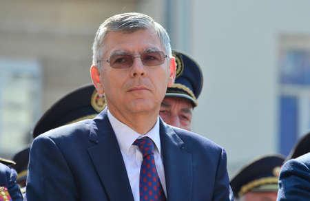 croatian: Zagreb, Croatia. 07 May 2016. President of the Croatian Parliament Zeljko Reiner.