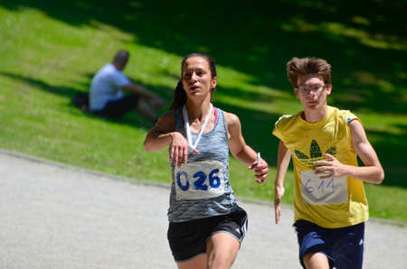 31: Zagreb, Croatia. 22nd May, 2016. Humanitarian organization Marys Meals Croatia organized a charity race called Run for Child 31
