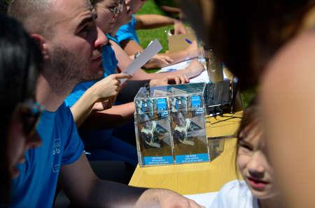 marys: Zagreb, Croatia. 22nd May, 2016. Humanitarian organization Marys Meals Croatia organized a charity race called Run for Child 31