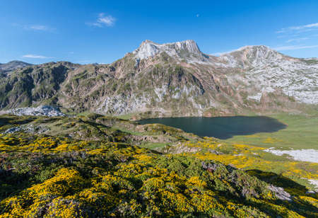 the lakes of the valley of Somiedo, asturias