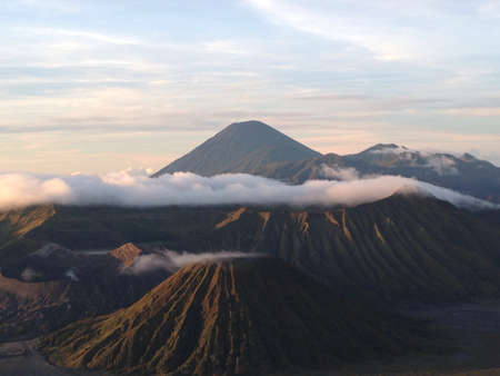 Beautiful mount of bromo east java indonesia