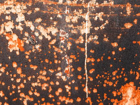 rusty texture of the wall. Grunge background ruined old street wall. Art concept Zdjęcie Seryjne
