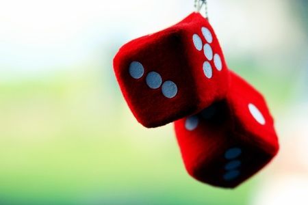 Roll the dice and win the game photo