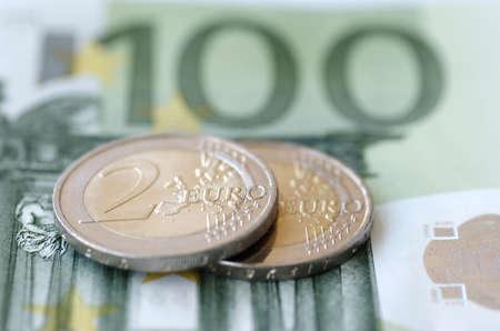 billets euro: Les billets et pièces