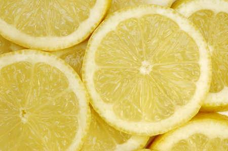 Lemon slice background photo