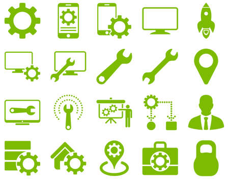 data storage device: Settings and Tools Icons