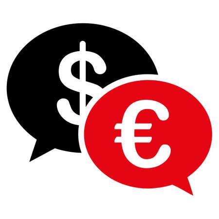 martinet: Transactions ic�ne. Style de Vector est bicolor plat, symbole rouge et noir intensive, angles arrondis, fond blanc.