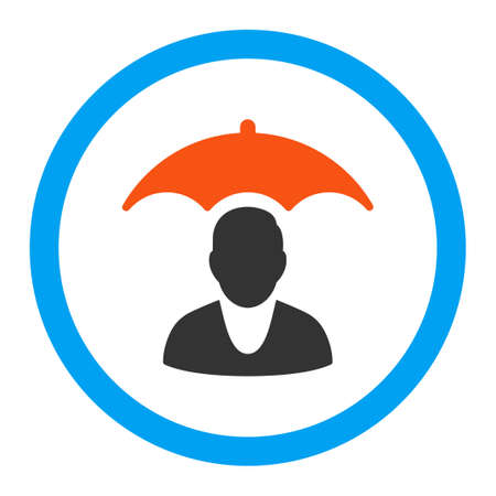 patient safety: Patient Safety vector icon. Style is flat rounded symbol, bright colors, rounded angles, white background.