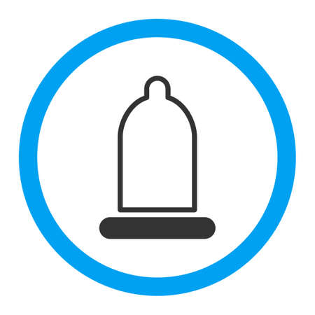 preservative: Preservative vector icon. Style is flat rounded symbol, bright colors, rounded angles, white background.