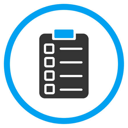 Test Task vector icon.