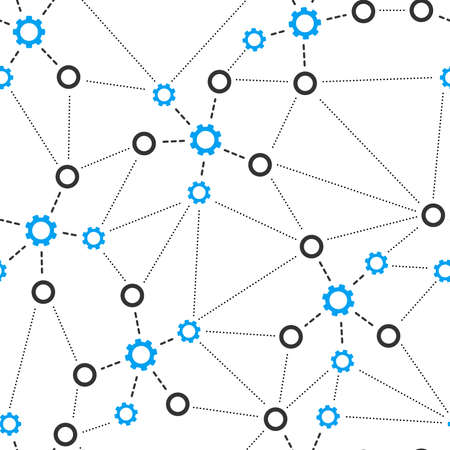repeatable: Mechanical Links Seamless repeatable pattern.