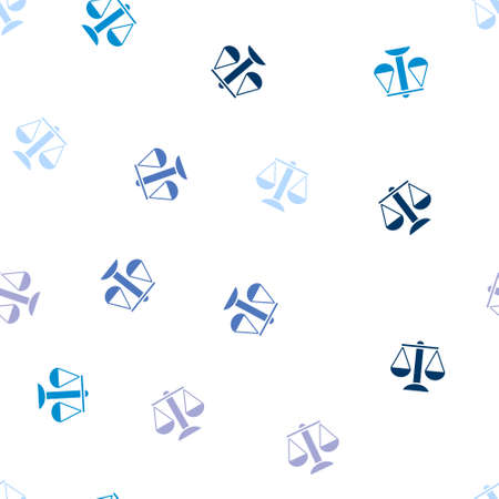 themis: Balance Seamless repeatable pattern. Style is flat vector symbols on a white background.