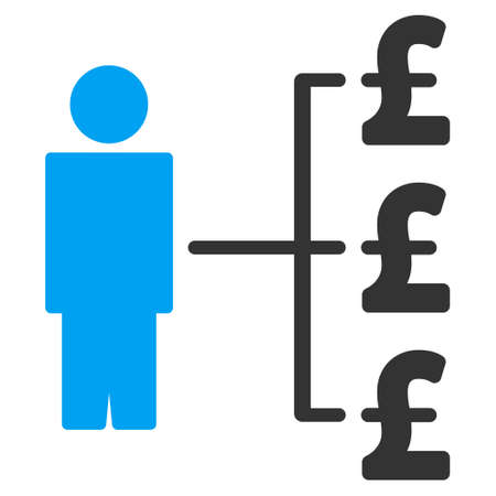payer: Person Pound Payments vector icon. Person Pound Payments icon symbol. Person Pound Payments icon image. Person Pound Payments icon picture. Person Pound Payments pictogram.