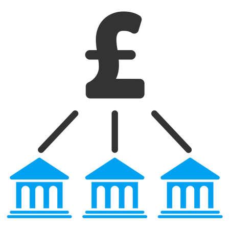 조직: 파운드 은행 조직 벡터 아이콘입니다. 파운드 은행 조직 아이콘 기호. 파운드 은행 조직 아이콘 이미지. 파운드 은행 조직 아이콘 사진. 파운드 은행 조직 그림.