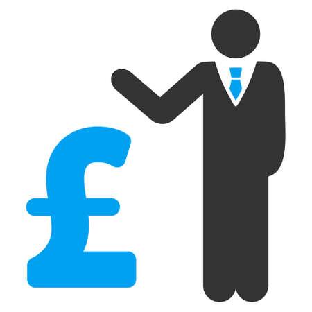 banker: Pound Banker vector icon. Pound Banker icon symbol. Pound Banker icon image. Pound Banker icon picture. Pound Banker pictogram. Flat pound banker icon. Isolated pound banker icon graphic.