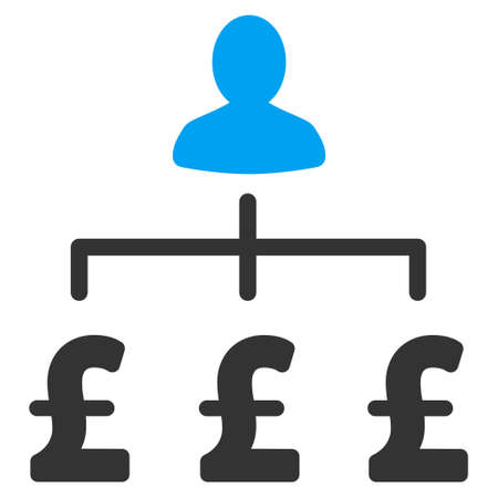 collector: Pound Collector vector icon. Pound Collector icon symbol. Pound Collector icon image. Pound Collector icon picture. Pound Collector pictogram. Flat pound collector icon. Illustration