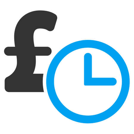 timed: Pound Credit vector icon. Pound Credit icon symbol. Pound Credit icon image. Pound Credit icon picture. Pound Credit pictogram. Flat pound credit icon. Isolated pound credit icon graphic. Illustration