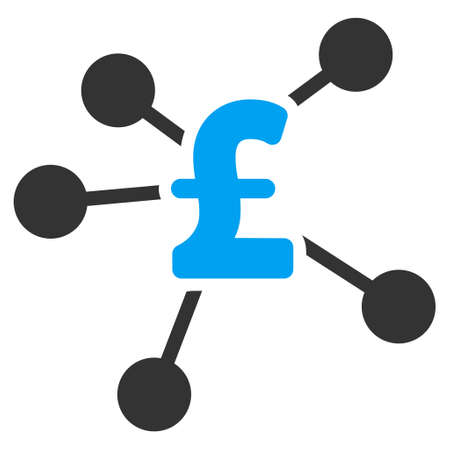 bank branch: Pound Distribution vector icon. Pound Distribution icon symbol. Pound Distribution icon image. Pound Distribution icon picture. Pound Distribution pictogram. Flat pound distribution icon. Illustration