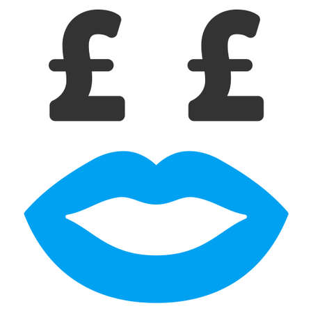 kissing lips: Pound Prostitution Smiley vector icon. Pound Prostitution Smiley icon symbol. Pound Prostitution Smiley icon image. Pound Prostitution Smiley icon picture. Pound Prostitution Smiley pictogram.