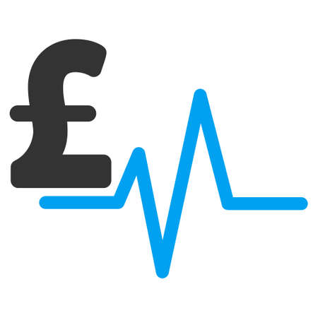 electrocardiograph: Pound Pulse vector icon. Pound Pulse icon symbol. Pound Pulse icon image. Pound Pulse icon picture. Pound Pulse pictogram. Flat pound pulse icon. Isolated pound pulse icon graphic. Illustration